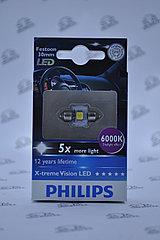 LED лампа Philips Vision C5W LED 6000K