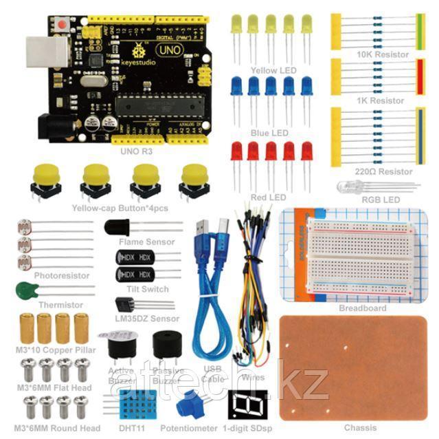 Минимальный набор для Новичков в Arduino (с микроконтроллером UNO R3)