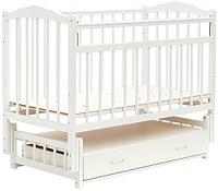 Кровать ящик/маятник Классик M 01.10.10 Белая (Bambini, Белоруссия)