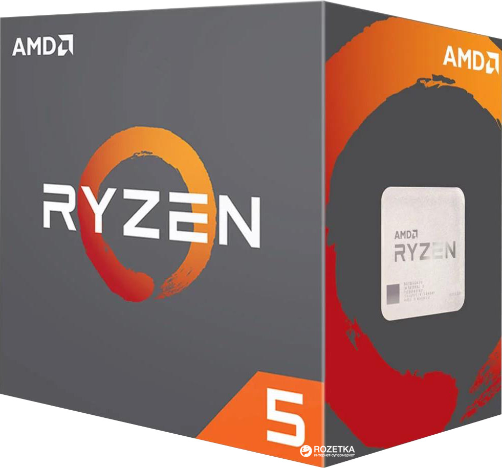 Процессор AMD Ryzen 5 3600 3,6Гц (4,2ГГц Turbo), AM4, 7nm, 6/12, L2 3Mb, L3 32Mb, 65W, OEM