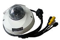 Видеокамера купольная IP 2Мп с поддержкой аудио