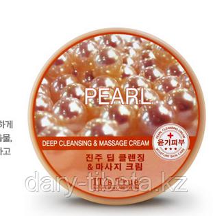 Cellio it's true deep cleansing & massage cream Pearl-  Массажный Очищающий крем на основе Жемчуга