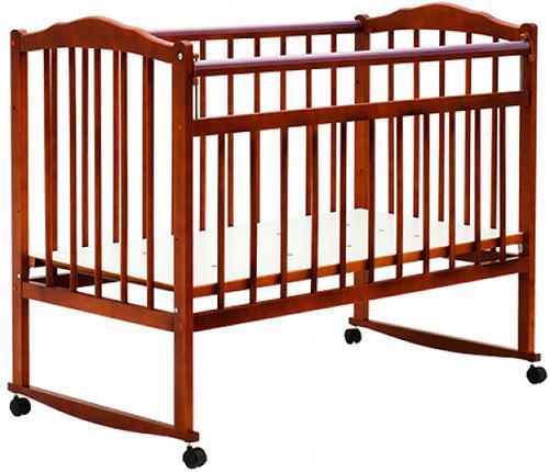 Детские кроватки на колесиках и качалки