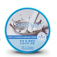 Cellio it's true deep cleansing & massage cream Milk  -Массажный Очищающий крем на основе молока
