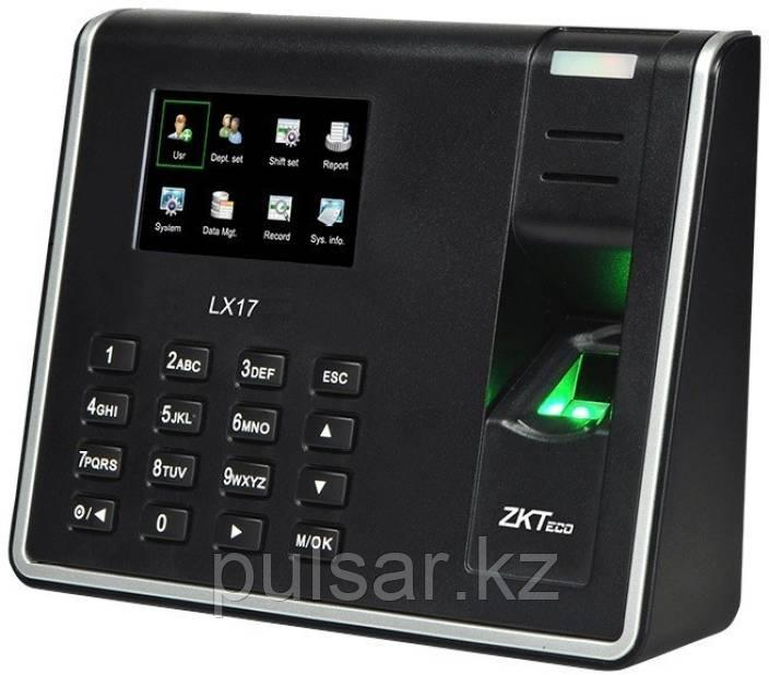 Терминал для учета рабочего времени  ZKTeco LX17