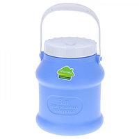 Пластиковый бидон для пищевых продуктов 3 литра