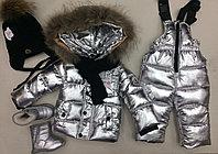 Зимние детские костюмы Moncler