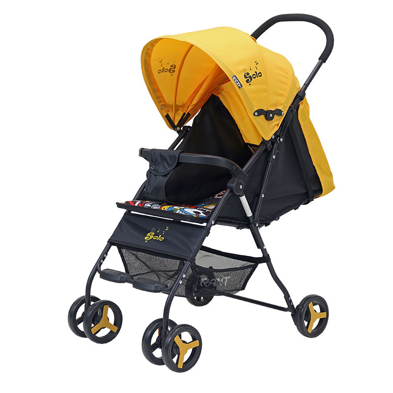Коляска детская Rant Solo цвет: желтый
