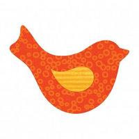 Трафарет для вырубки - птица с крылом №2 от Рейчел Брайд.