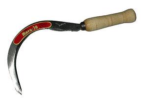 """Серп """"Жнец-30"""" с зубцом, длина захвата 190 мм"""