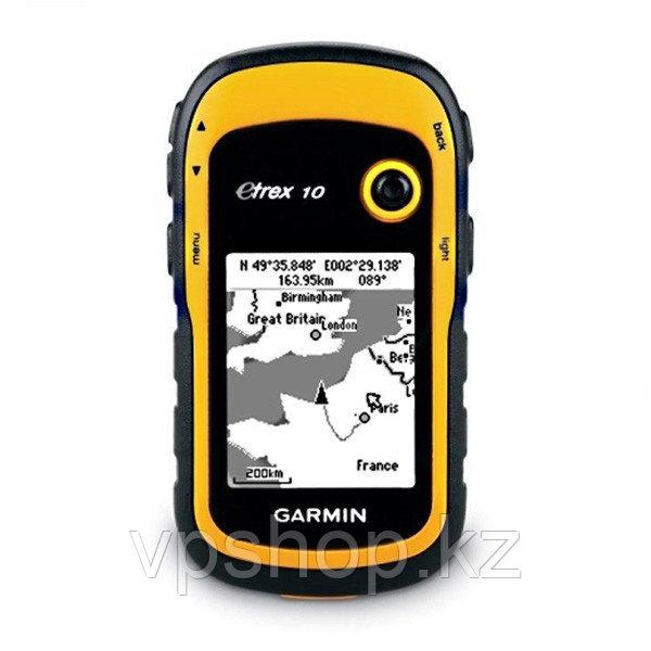 GPS навигатор Garmin eTrex 10 Yellow, доставка