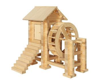 Деревянные игрушки (Монтессори)