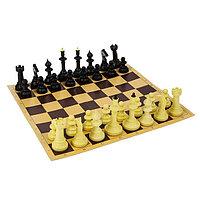 """Настольная игра 3 в 1 """"Русские игры"""": шахматы, лото, домино (доска микрогофра 40х40 см)"""