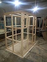 Сборная финская сауна в частном доме для ванной комнаты. Индивидуальное изготовление. Премиум дизайн. Размер = 1,85 х 1,24 х 2,1 м. Адрес: г.... 23