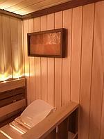 Сборная финская сауна в частном доме для ванной комнаты. Индивидуальное изготовление. Премиум дизайн. Размер = 1,85 х 1,24 х 2,1 м. Адрес: г.... 10