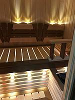Сборная финская сауна в частном доме для ванной комнаты. Индивидуальное изготовление. Премиум дизайн. Размер = 1,85 х 1,24 х 2,1 м. Адрес: г.... 13