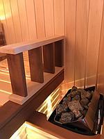 Сборная финская сауна в частном доме для ванной комнаты. Индивидуальное изготовление. Премиум дизайн. Размер = 1,85 х 1,24 х 2,1 м. Адрес: г.... 12