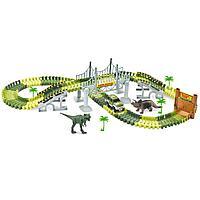 Большой детский автотрек с динозаврами, фото 1
