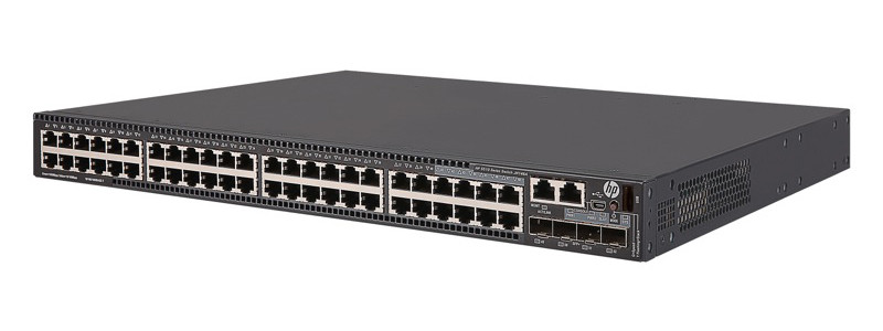 Коммутатор HP Enterprise HPE 5510 48G PoE+ 4SFP+ HI 1-slot Switch_2x720W AC PSU (JH148A/Spec)