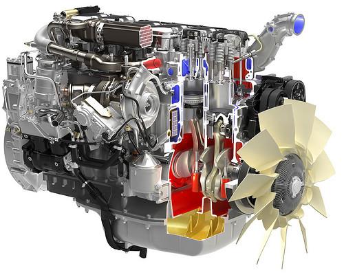 Двигатель Iveco Cursor 9 F3BE0681B, Iveco Cursor 9 F3BE0681C, Iveco NEF - фото 2