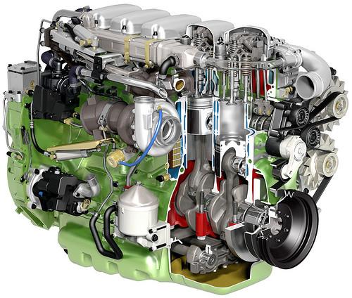 Двигатель Iveco Cursor 9 F3BE0681B, Iveco Cursor 9 F3BE0681C, Iveco NEF - фото 3