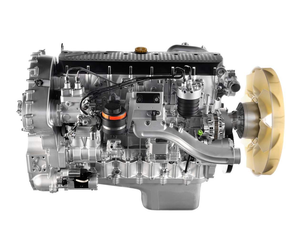 Двигатель Iveco Cursor 9 F3BE0681B, Iveco Cursor 9 F3BE0681C, Iveco NEF - фото 5