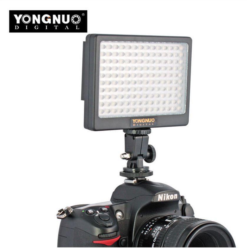 YN-140 Накамерный LED прожектор c аккумулятором и зарядным устройством