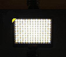 YN-140 Накамерный LED прожектор c аккумулятором и зарядным устройством , фото 2