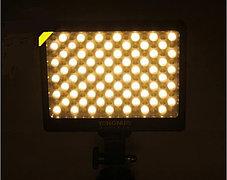 YN-140 Накамерный LED прожектор c аккумулятором и зарядным устройством , фото 3