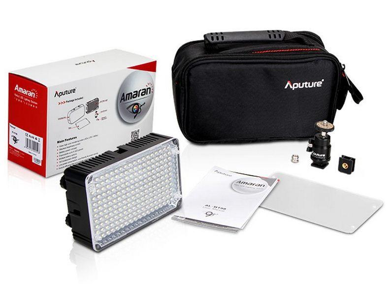 Apature Amaran AL-H198 +аккумулятор и зарядное устройство Накамерный LED прожектор фонарь