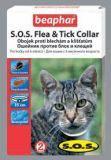 BEAPHAR S.O.S.  ошейник от блох и клещей для кошек на 8 мес., 35см