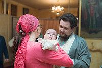 крещение, таинство крещения, фотосъемка крещения