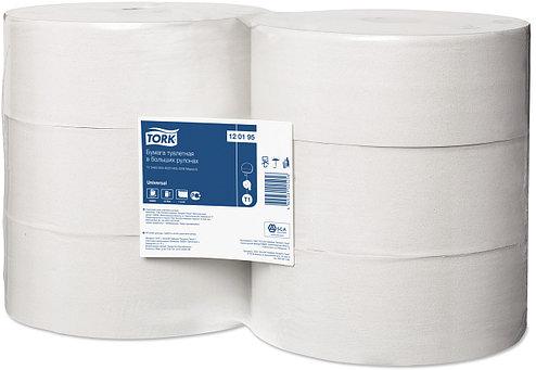 120195 Туалетная бумага Tork Universal в рулонах 525 м, 1 слой, фото 2