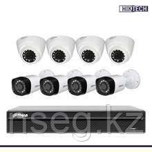 Dahua KIT/XVR4108C-S2/4 HFW1000R-0360B-S3/4 HDW1000R-0360B-S3