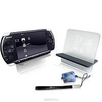 Набор аксессуаров Black Horns PSP Slim 2000/3000 Stand Kit, фото 1
