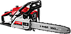 Пила цепная бензиновая, хромир. цилиндр, праймер, 37 см3 (1,2 кВт), шина 35 см, 11500 об/мин, ЗУБР