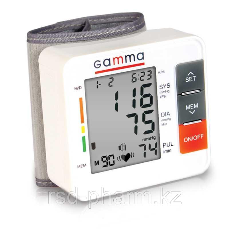 Тонометр автоматический на запястье Gamma Active - фото 1