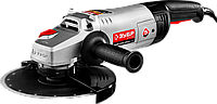 Углошлифовальная машина (болгарка), плавный пуск, 230 мм, 6000 об/мин, 2600 Вт, ЗУБР, фото 1
