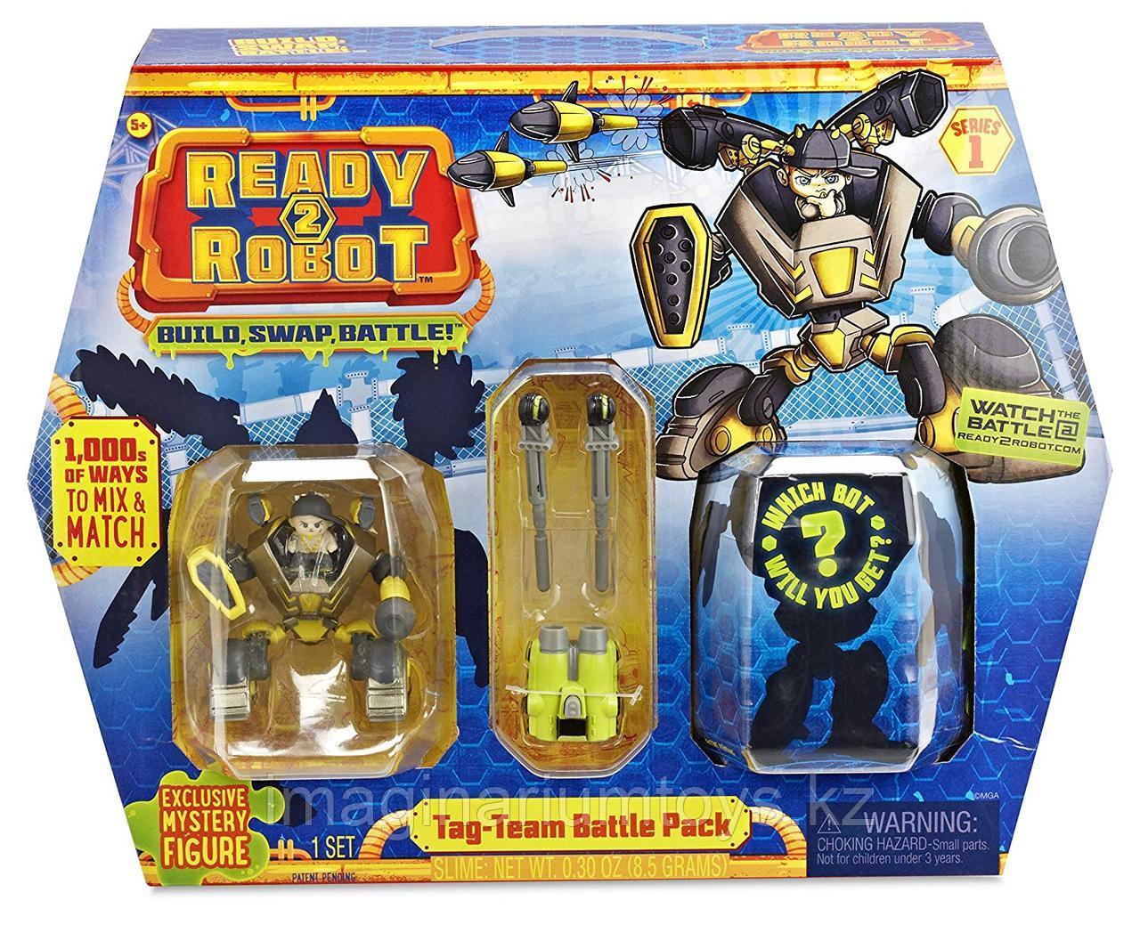 Ready2Robot игровой набор Tag Team