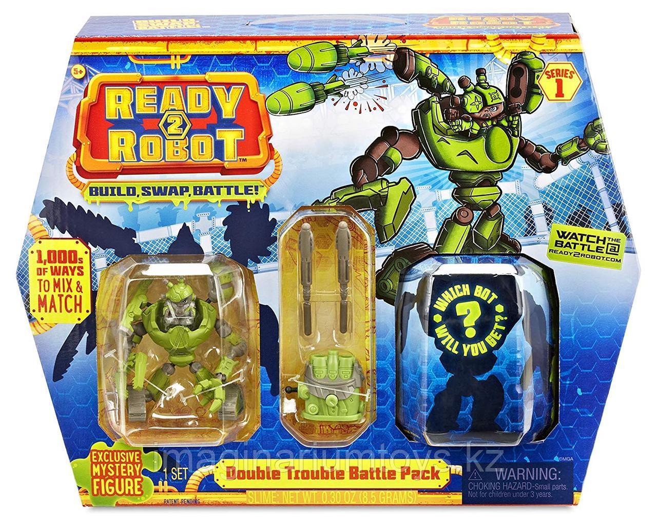 Ready2Robot игровой набор Double Trouble