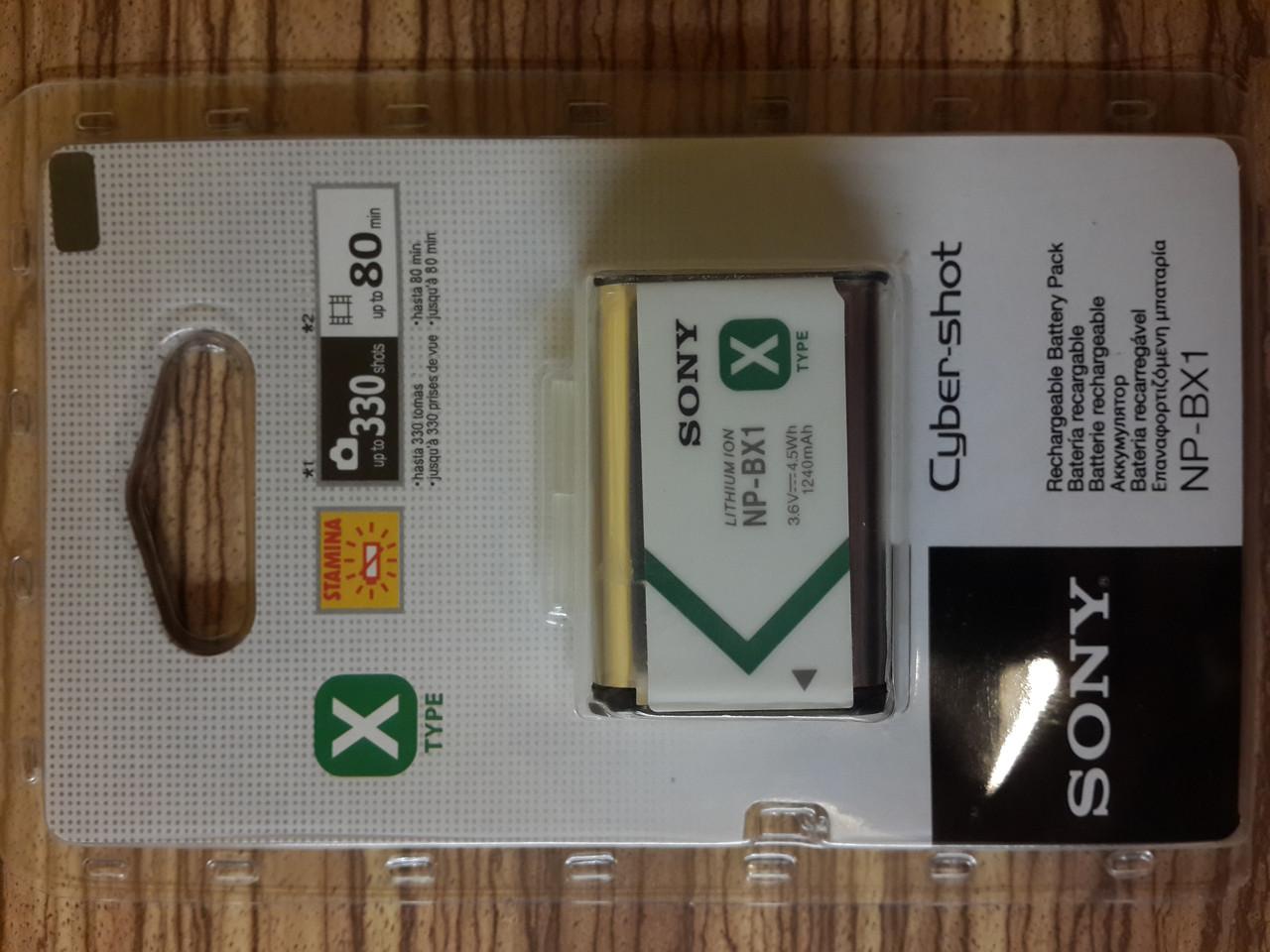 Sony NP-BX1  аккумулятор