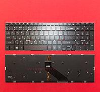 Клавиатура для ноутбука Acer Aspire 5830T, RU, черная, с подсветкой