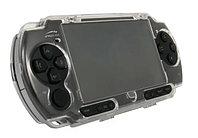 Чехол защитный пластиковый Hori Sony PSP Slim 2000/3000, прозрачный, фото 1
