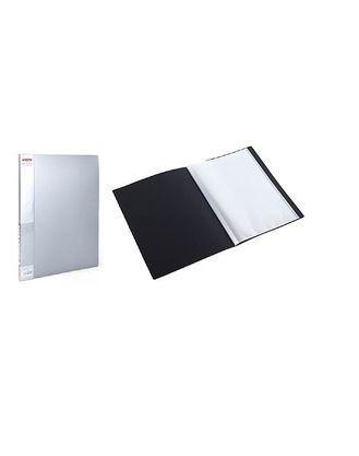 Папка пластик. Berlingo А4 с 10 вкладышами, корешок 9 мм, серый металлик
