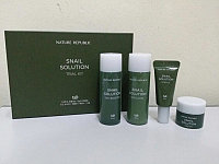 Nature Republic snail solution trial kit Анти-эйдж улиточный мини сет Nature Republic