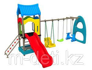 Детский игровой комплекс Теремок HD110 HUADONG