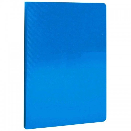 Папка пластиковая Berlingo A4 с 10 вкладышами LINE, корешок 9мм синяя