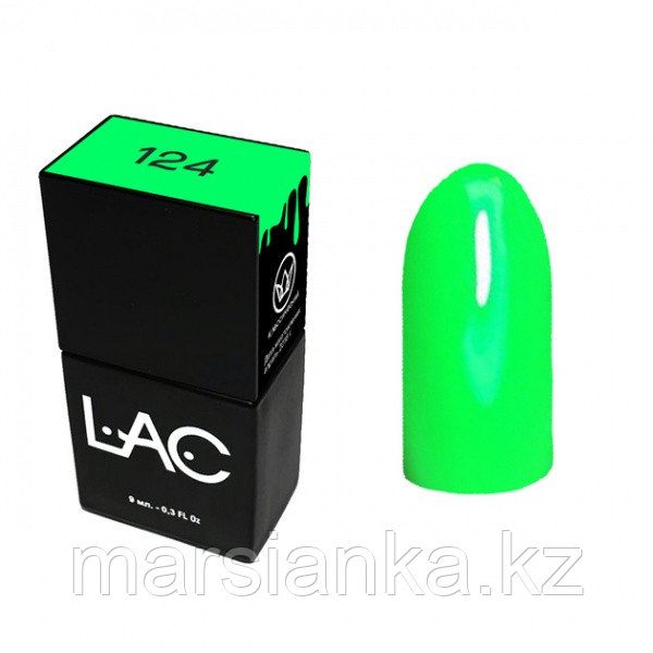 Гель лак LAC 124, 9мл