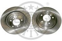 Тормозные диски BMW 3 (E90, E91, 92) объем 1.6-2.5 06-11 (задние, Optimal, D300)