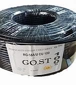 Коаксиальный кабель RG-58A/U CU 100 GO.ST  черный
